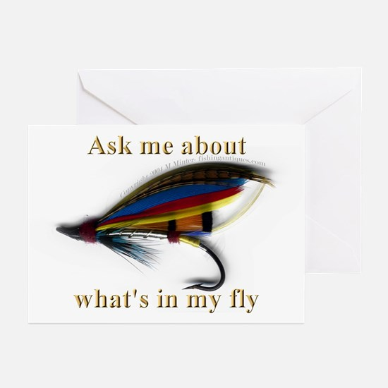 What's in my Fly  Greeting Cards (Pk of 10)