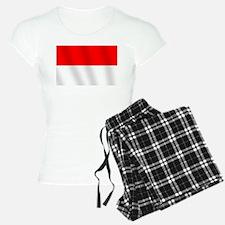 Flag of Indonesia Pajamas
