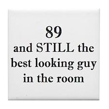 89 still best looking 2 Tile Coaster