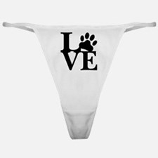 Unique Adopt a rescue dog today Classic Thong