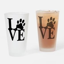 Adopt dont shop Drinking Glass