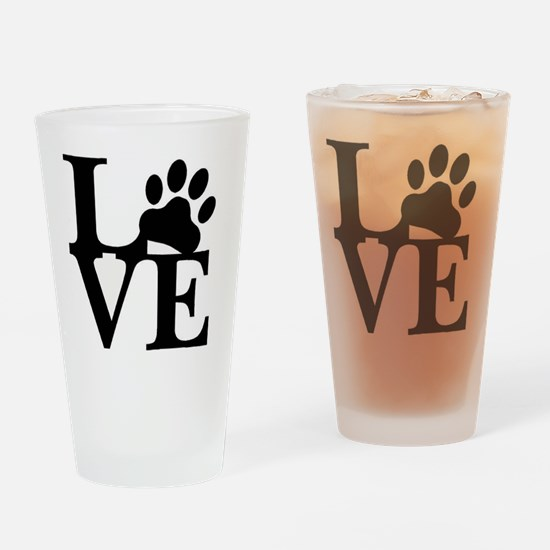 Cute Travel lover Drinking Glass