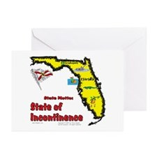 FL-Incontinence! Greeting Cards (Pk of 10)