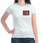 CAIRN TERRIER Jr. Ringer T-Shirt