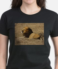 Magnificent Lion In The Wild T-Shirt