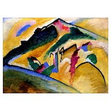 Kandinsky - Autumn Landscape Poster
