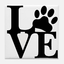 Pet Love and Pride (basic) Tile Coaster