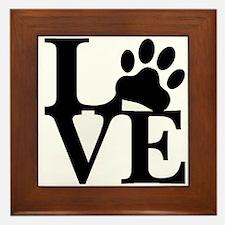 Pet Love and Pride (basic) Framed Tile
