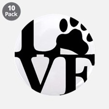 """Pet Love and Pride (basic) 3.5"""" Button (10 pack)"""
