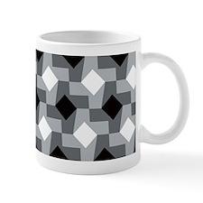 Blurry Houndstooth Mugs