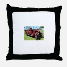 Antique / Vintage Fire Truck Throw Pillow