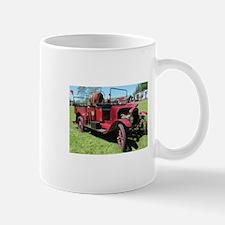 Antique / Vintage Fire Truck Mugs