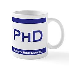 PhD Degree Small Mugs