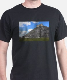 Chichen Itza Temple of Kukulcan south-west T-Shirt