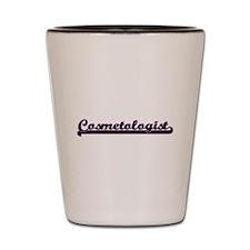 Cosmetologist Classic Job Design Shot Glass