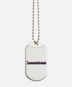 Cosmetologist Classic Job Design Dog Tags