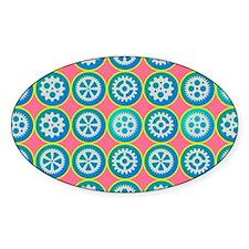 Gearwheels pattern Decal