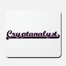 Cryptanalyst Classic Job Design Mousepad