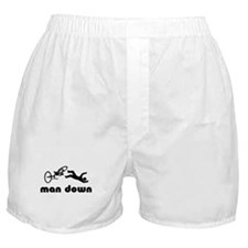 cyclist down Boxer Shorts