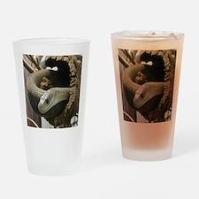 Black Mamba Snake Drinking Glass
