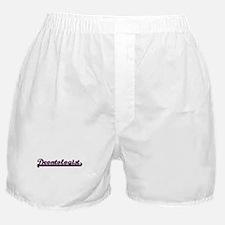 Deontologist Classic Job Design Boxer Shorts