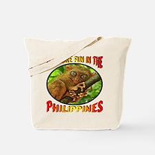 It's More Fun In The Philippines -- Tarsi Tote Bag