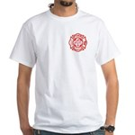 Masons - York Rite F&R White T-Shirt
