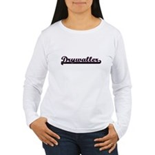 Drywaller Classic Job Design Long Sleeve T-Shirt