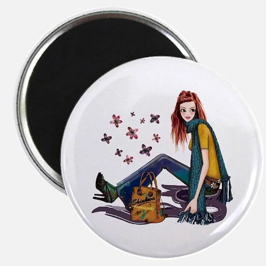 Fashion Girl Magnets
