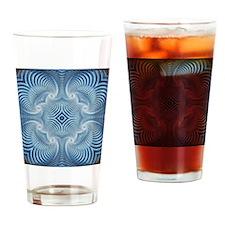 Osteo Pattern Drinking Glass