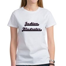 Fashion Illustrator Classic Job Design T-Shirt