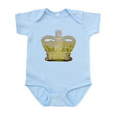 Golden Crown Infant Bodysuit