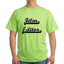 Film Editor Classic Job Design T-Shirt