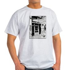 1926 Blue Kitchen Lunch Room Ash Grey T-Shirt