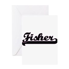 Fisher Classic Job Design Greeting Cards