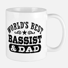 World's Best Bassist and Dad Small Small Mug