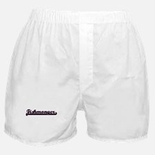 Fishmonger Classic Job Design Boxer Shorts