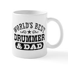 World's Best Drummer and Dad Mug
