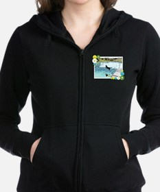 Dog Days of Summer! Women's Zip Hoodie