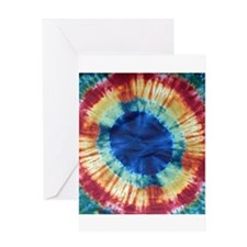 Tie Dye Design Greeting Cards