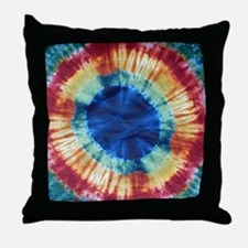Tie Dye Design Throw Pillow
