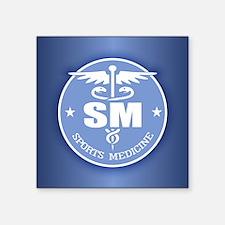 """Cad -Sports Medicine Square Sticker 3"""" x 3"""""""