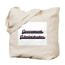 Government Administrator Classic Job Desi Tote Bag