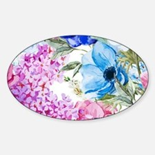 Chic Watercolor Floral Pattern Decal