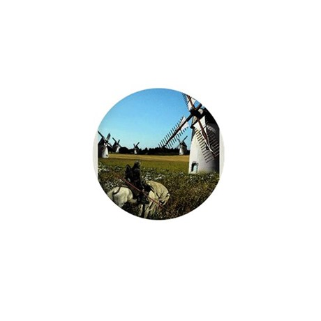 Quixote Mini Button (10 pack)