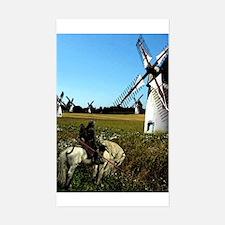 Quixote Rectangle Decal