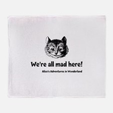 All Mad Throw Blanket