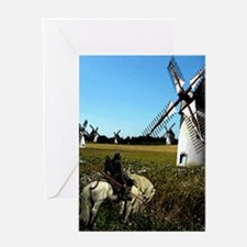 Quixote Greeting Card