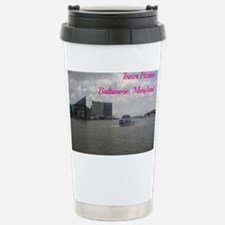 Inner Harbor, Baltimore Stainless Steel Travel Mug