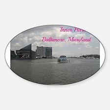 Inner Harbor, Baltimore Decal
